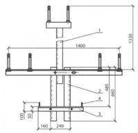 Надставка ТС-4 (3.407.1-143.8.25) 30,3 кг